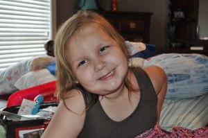 7-year-old Belle Mitchell